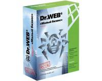 Dr.Web «Малый бизнес» на 5 ПК + защита 1 файлового сервера + защита 5 почтовых ящиков/пользователей, коробка на 12 месяцев