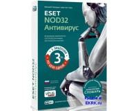 ESET NOD32 Антивирус - лицензия на 1 год 3 ПК продление (коробка)