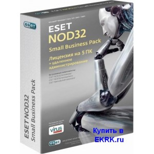 ESET NOD32  Антивирус SMALL Business Pack newsale for 5 user