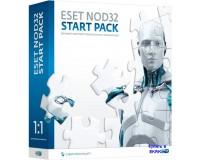 ESET NOD32 START PACK- базовый комплект безопасности  1 год на 1ПК электронно